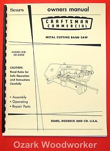 image is loading craftsman-101-2290-metal-cutting-band-saw-instructions-