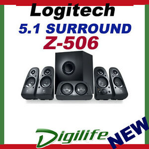 Logitech-Z506-5-1-Surround-Sound-3D-Stereo-Speakers