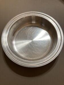 "Amway Queen Waterless Stainless 9"" Double Boiler Insert Pan Melting Pot VGC"
