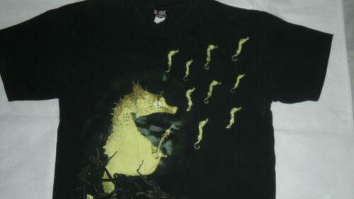 NIRVANA Seahorse Vintage T shirt Original 1993 L G