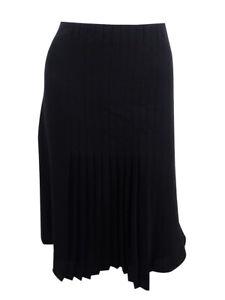 Lauren-Ralph-Lauren-Women-039-s-Pleated-Skirt-8-Black