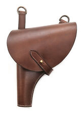 RUSSIAN M 1895 NAGANT LEATHER HOLSTER LEFT HAND VERSION