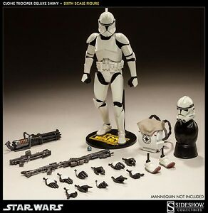 Image Is Loading SIDESHOW STAR WARS CLONE TROOPER SHINY 1 6