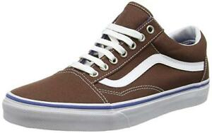 aaa6b4465cad Image is loading Genuine-Vans-Old-Skool-Sneaker-Chestnut-True-White-