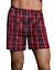 "Details about  /Hanes® Men/'s FreshIQ™ Tartan Boxers 4-Pack /"" TAGLESS /& Comfort Cool® /& X-TEMP® /"""