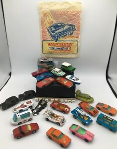 Lot / paquet 21 X Matchbox Superfast-vintage 2 Corgi Junior