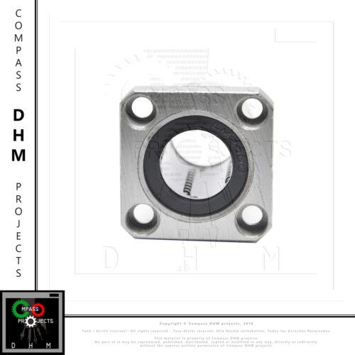 Cuscinetto lineare flangia quadra manicotto LMK20UU linear motion 3D CNC