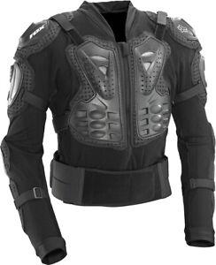 Fox Titan Armor Sport Jacket Black BMX BIKE MTB size L .