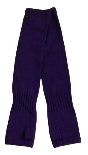 L ~~ ~~ adidas SLVR Long Gloves lange Handschuhe für Damen fingerlos lila Gr