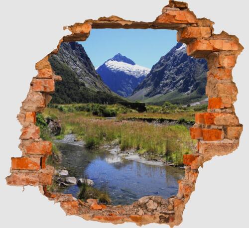 3d-pared Sticker fjordlandschaft naturaleza pegatinas muro por rotura m0214