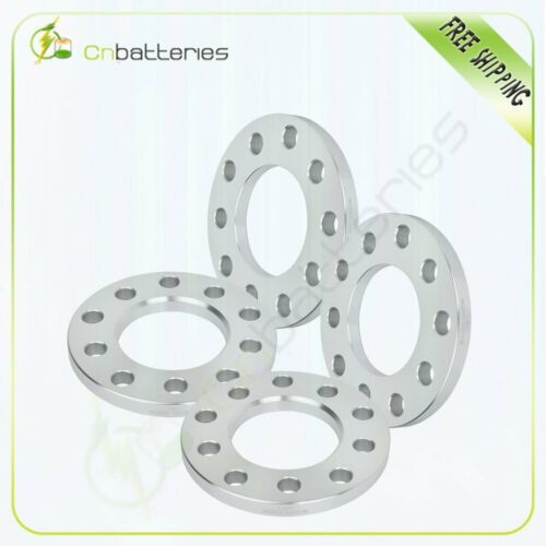 """4X 1//2/"""" silver wheel spacers 5x4.5 or 5x4.75 studs  for Ford Mustang Lincoln"""