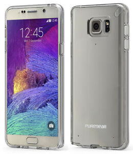 PUREGEAR-SLIM-SHELL-CLEAR-CASE-HARD-COVER-FOR-SAMSUNG-GALAXY-NOTE-5