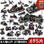 Sembo-Blocksteine-Modellbausaetze-Militaer-Blackhawks-Soldaten-Waffen-Spielzeug Indexbild 5