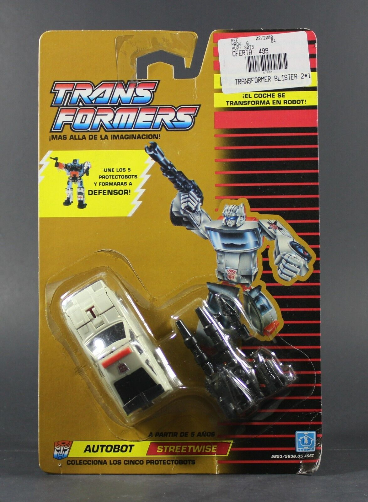 1986 Hasbro Transformers G1 Protectobot STREETWISE figure Mint On Sealed Card