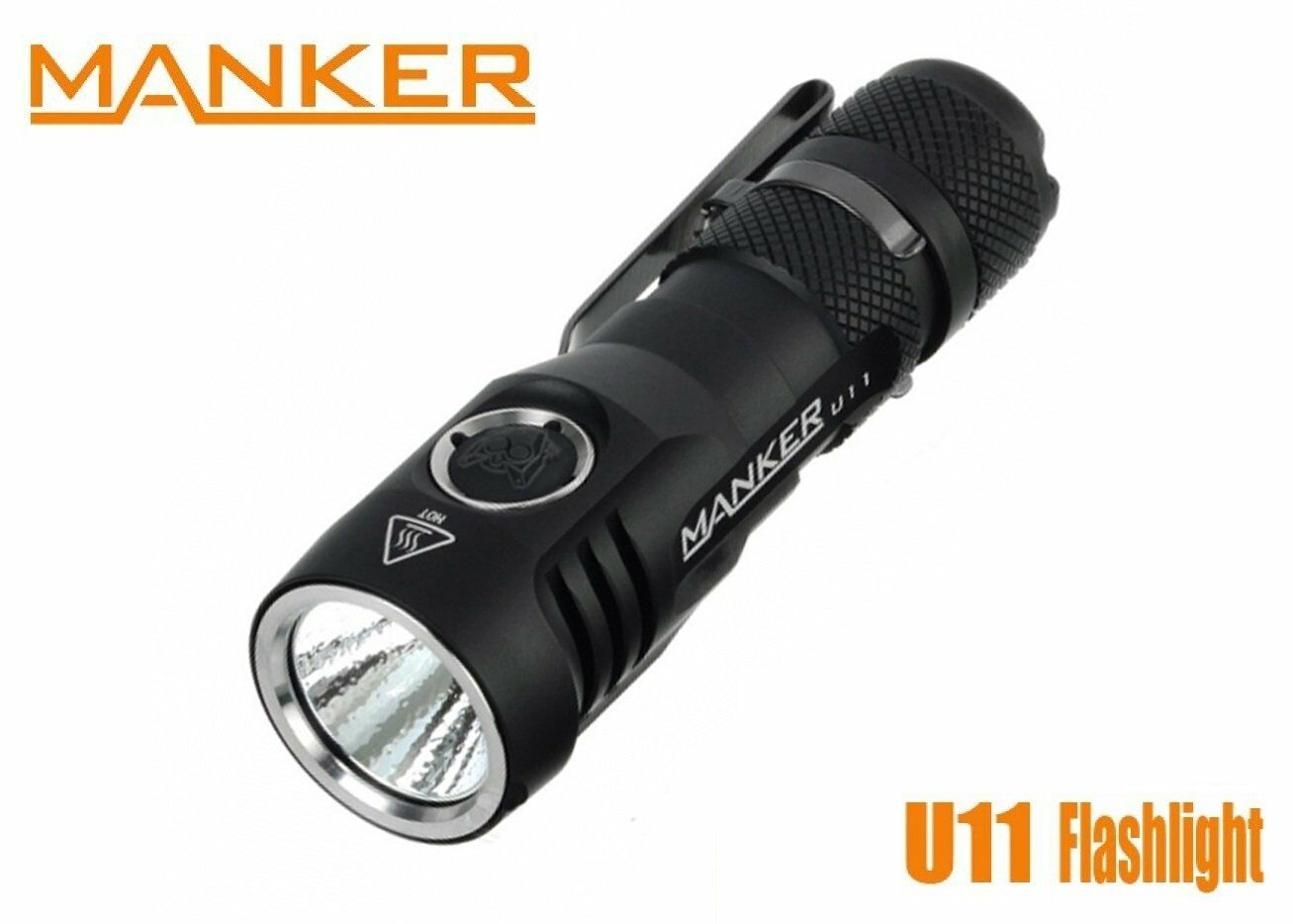 New Manker U11 (Warm) USB Rechargeable Cree XP-L 1050LM LED Flashlight Torch
