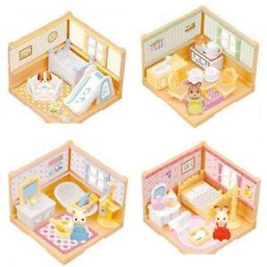 Frugal Sylvanian Families Kabaya Forêt Maison Complet 4pcs Miniature Y2012 Rare-afficher Le Titre D'origine