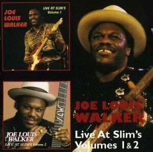Joe-Louis-Walker-Live-At-Slim-039-s-Volumes-1-amp-2-2012-2CD-NEW-SPEEDYPOST