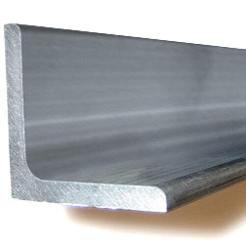 "Aluminum Angle (6061-T6) 1"" x 1"" x .125 wall x 96"""