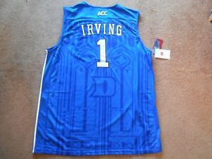 Kyrie Irving  1 Duke Blue Devils STITCH Blue ACC College Jersey Men ... d772a76f7