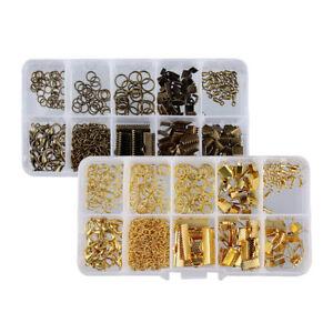 Jewelry-Making-Starter-Constatations-Set-Kit-A-faire-soi-meme-Boucle-d-039-oreille-Bracelet-Collier
