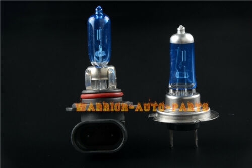 1999-07 Xenon HID Hyper Headlight Bulbs Lights Suzuki GSXR 1300 Hayabusa H7 9005