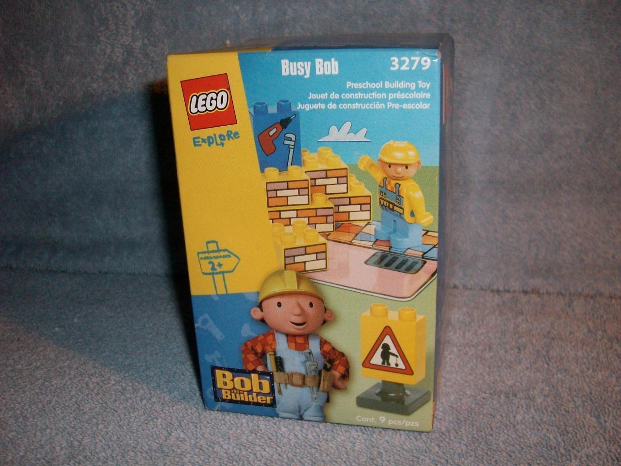 Busy Bob le bricoleur 3279 LEGO Explorer  Duplo Preschool 2002 neuf scellé  vente de sortie