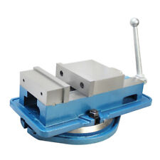 4 Ang Lock Milling Machine Precision Vise With Swivel Base Drilling Bench Clamp