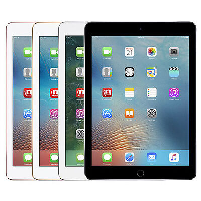"""Apple iPad Pro 9.7"""" Retina Display 128GB Silver, Space Gray, Gold or Rose Gold"""