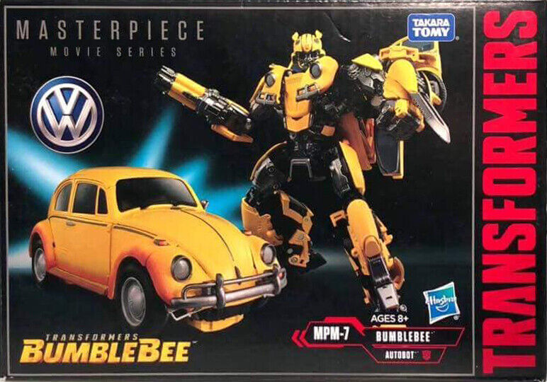 Transformers Bumblebee Movie Masterpiece MPM07 Bumblebee Nuovo di Zecca