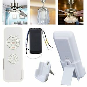 Universal ceiling fan lamp remote controller kit timing wireless image is loading universal ceiling fan lamp remote controller kit amp aloadofball Image collections