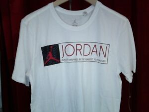 141ba9d12bf air jordan 12 the greatest T-SHIRT US MENS WHITE/RED SIZES 725013 ...