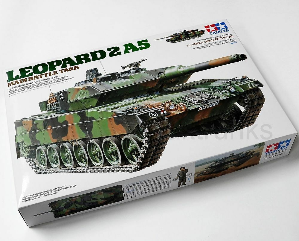 Tamiya 1 35 Leopard 2 A5 Main Battle Tank Model Tank Kit