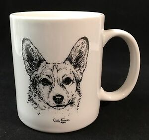 corgi coffee mug dog by cindy farmer ebay