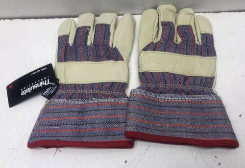 1 Pair Thinsulate Insulation Men/'s Winter Work Gloves 100 Gram Size Small
