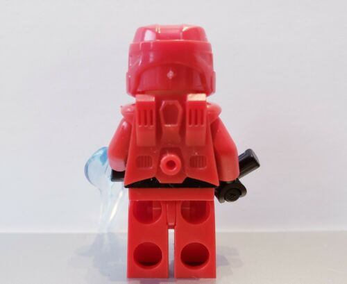 Lego HALO RED SPARTAN MASTER CHIEF Minifig NEW