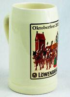 """Löwenbräu Bier Brauerei, """"OKTOBERFEST 2015"""" Seidel, Bierkrug 0,5 Liter Humpen"""