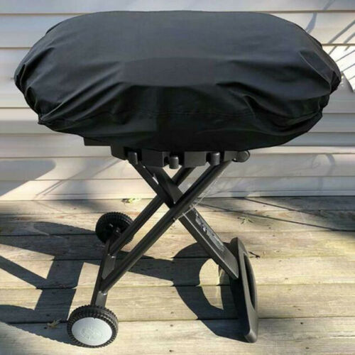 Outdoor Grill Waterproof Cover Bag BBQ Dust Guard Dust Protect Rainproof Black