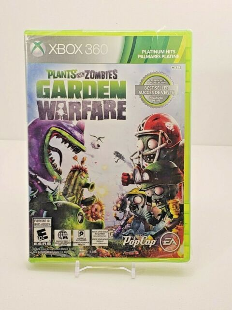 Xbox 360 Plants vs. Zombies Garden Warfare Video Game Brand New - Factory Sealed