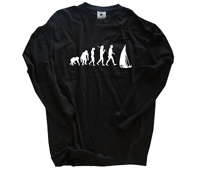 BRONZE Edition Segler I Segeln Segelboot Segelyacht Evolution T-Shirt S-XXXL