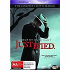 Justified : Season 5 (DVD, 2014, 3-Disc Set)