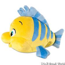 "Disney Store Flounder Plush The Little Mermaid Ariel's Fish Small Size 10"" NWT"
