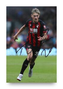 David-Brooks-Signed-6x4-Photo-Bournemouth-Genuine-Autograph-Memorabilia-COA
