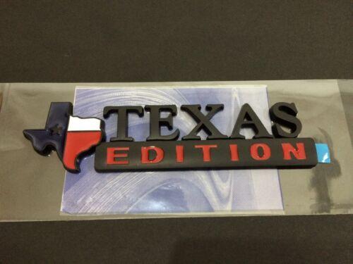 New Texas Flag Edition Emblem Fender Tailgate Door Badge 3M Stick On