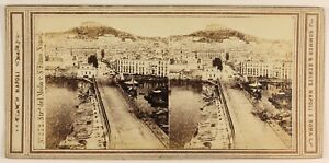 Napoli-Molo-Foto-Sommer-amp-Behles-Stereo-PL56L1n-Vintage-Albumina-1864