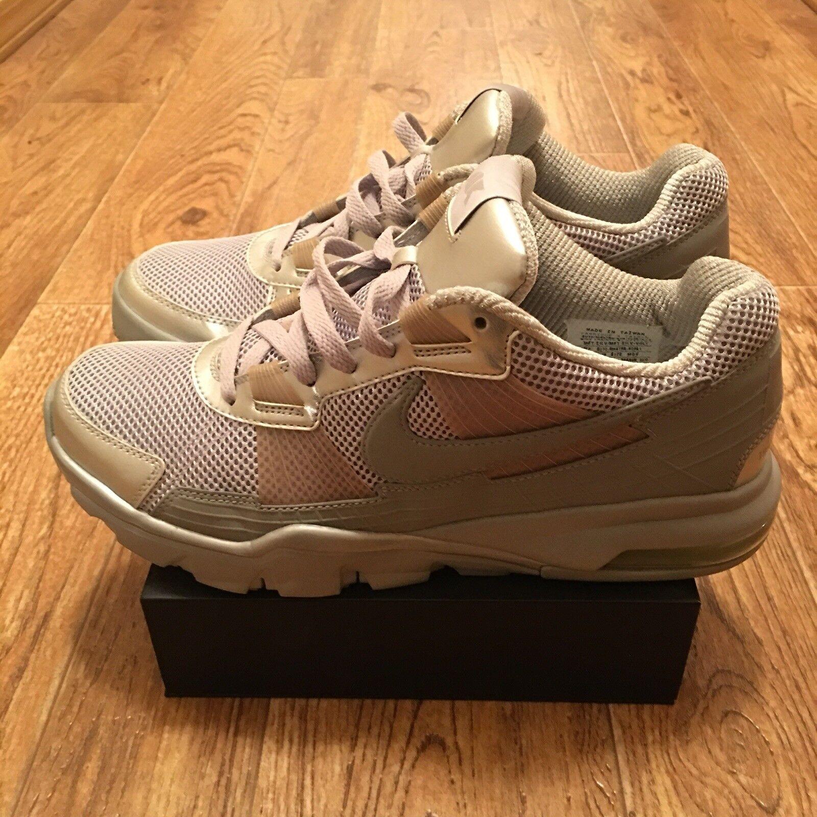 Nike Trainer SC 2010 Low Mens Shoes Silver/Volt  NO INSOLES  Paquiao Mens S 9