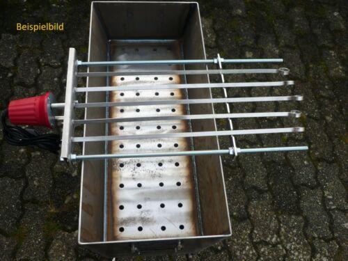 Spießdreher für 5 Spieß Abstand 5,5 cm Grill Mangal ohne Zubehör