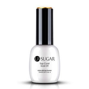 UR-SUGAR-15ml-Nagel-Gellack-Top-Coat-UV-Gel-Polish-Soak-Off-Nagellack-Gel-UV
