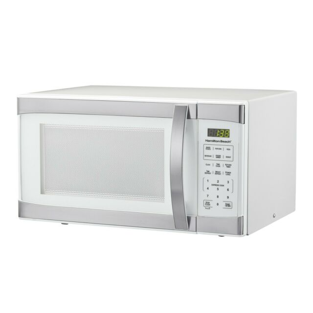 1.1-cu ft 1000W Microwave Stainless Steel