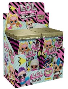 300 Random cartes PANINI l.o.l surprise 50 paquets de #GlamLife Trading Cards
