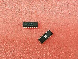 9x-MOTOROLA-SN74LS20N-74LS20-DUAL-4-INPUT-NAND-GATE-14-DIP